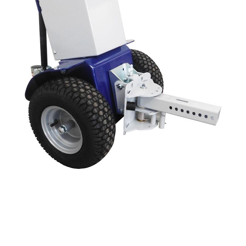 trainatore elettrico,mezzi elettrici,carrelli elettrici,trattori elettrici,Zallys