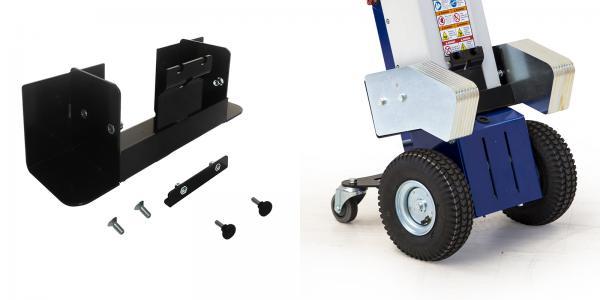 Kit fissaggio pacco batterie 22A + zavorre per Zallys M1