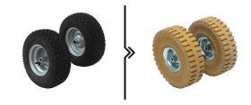Differenza prezzo  per cambio ruote da standard a superelastiche antitraccia (2 ruote)
