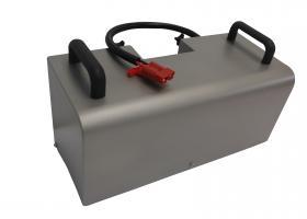 Pacco batterie inox
