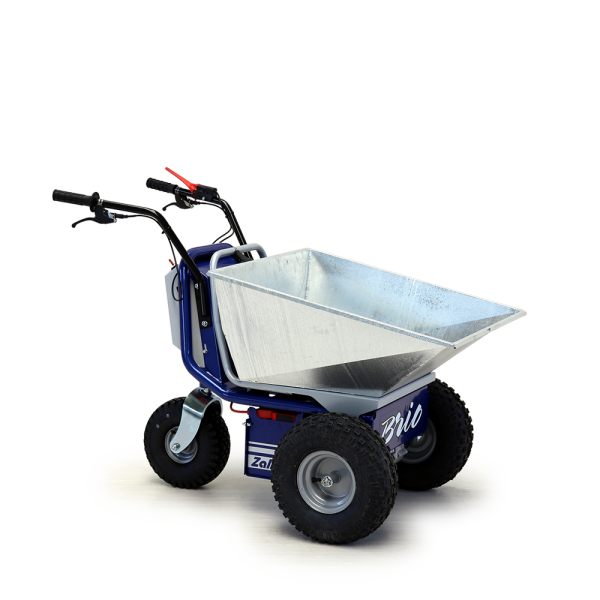 electric wheelbarrow Brio,electric wheelbarrow,electric vehicle for material handling,motorised wheelbarrow,motorised electric wheelbarrow,electric powered barrow,powered wheelbarrow,battery wheelbarrow,brio electric tipper,electric vehicles,zallys,electric wheight mover,electric vehicles Zallys,electric weight mover,electric transporter,power barrows,minidumpers,electric tippers,4 wheeled electric transporter,electric power mover,battery powered wheelbarrow,electric dumper,pedestrian controlled electric vehicle,pedestrian controlled wheelbarrow,pedestrian controlled transporter 0