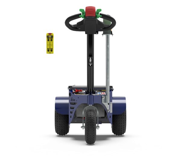 Zallys M9 cart pusher with remote control