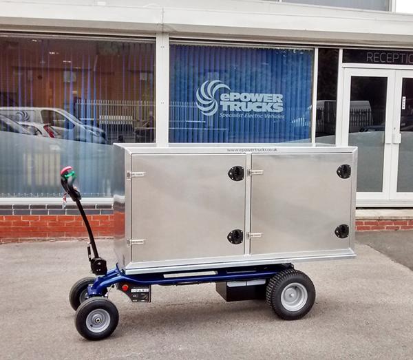 Customized Zallys Jespi L electric transportetr