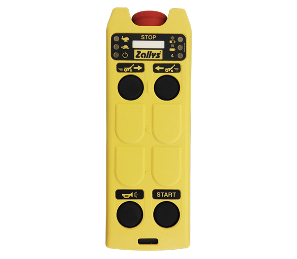 Zallys M9 cart pusher with optional remote control