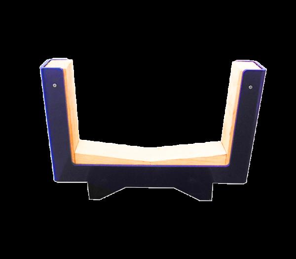 Cavaletta base M8 con inserti in legno