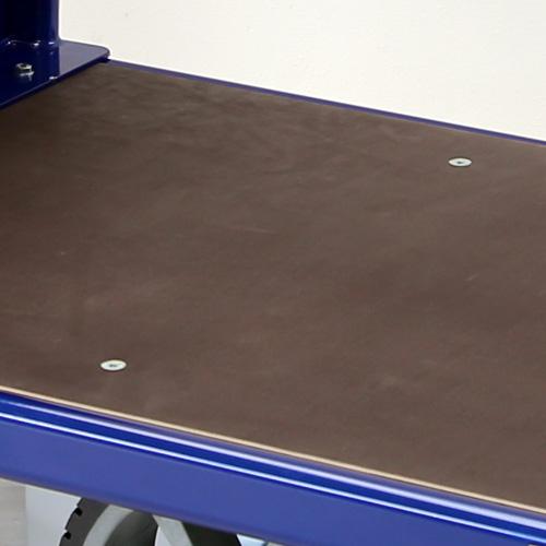 Platform in marine plywood
