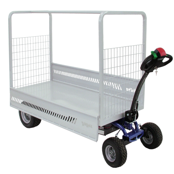 electric carts,motorised trolley, Zallys electric vehicles, electric trolleys