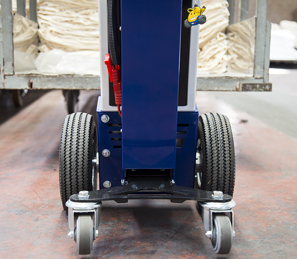 Zallys M1 cart mover for towing laundry carts